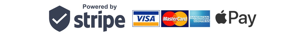 Stripe / Apple Pay Payment Method Logos